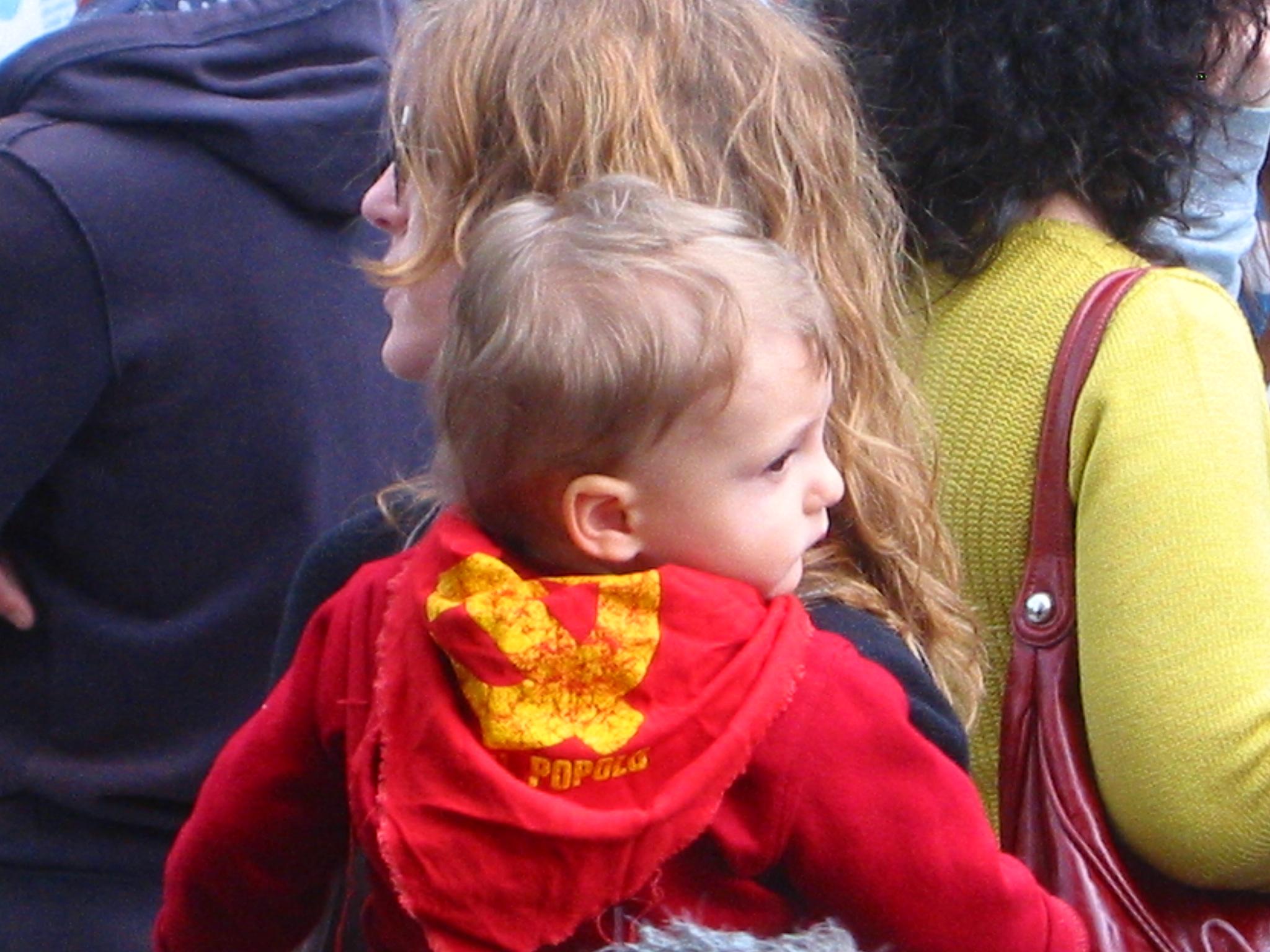 Resistenza! Bambini e bambine in corteo