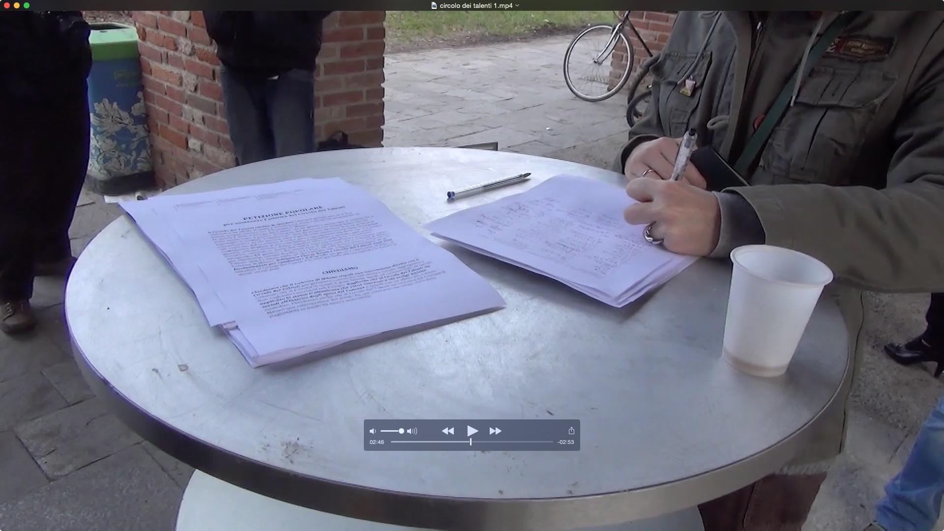 Appello e presidio per il Circolo dei Talenti di Milano