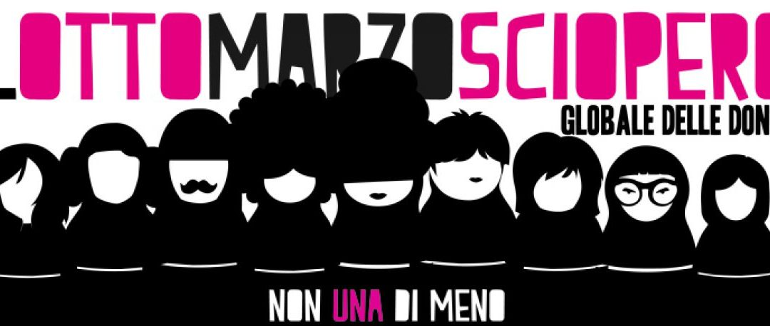 Sciopero delle donne #LottoMarzo. Un racconto fantastico!
