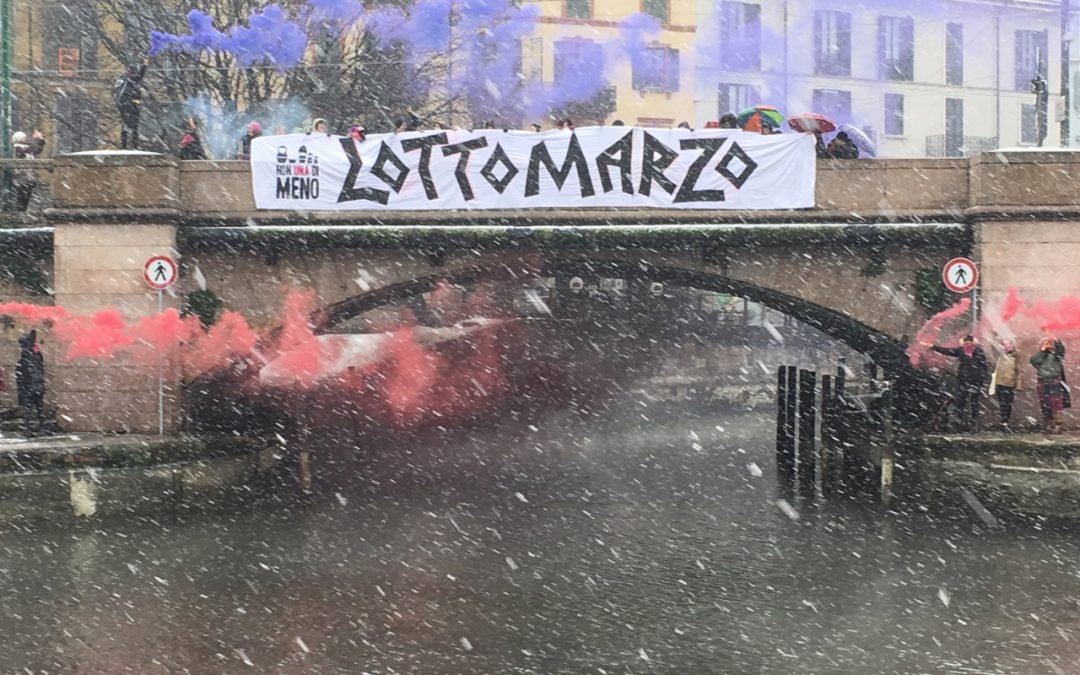 8 marzo Momi-z in piazza con Non una di meno