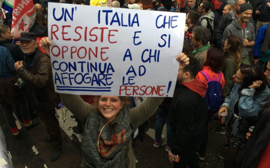 25 aprile liberiamo l'Italia liberiamo l'Europa